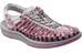 Keen W's Uneek 8mm Shoes Neutral Gray/Dahlia